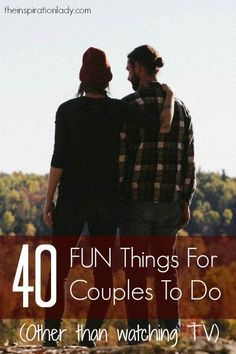 Love this forty FUN Issues for Couples to Do Collectively - The Inspiration Woman