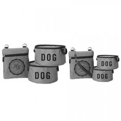Fold Up Dog Bowls and Pouch