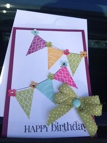 STAMPIN UP UK INDEPENDENT DEMONSTRATOR MONICA GALE: Birthday Passionette
