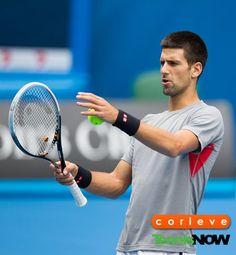 Novak Djokovic - I think the court is crooked my shots always go in.