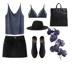 """# 26"" by dreams-and-dark-illusions ❤ liked on Polyvore featuring STELLA McCARTNEY, Monki, Pier 1 Imports and TSATSAS"