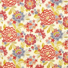 Pattern #42359 - 638 | Fontana Print Collection | Duralee Fabric by Duralee