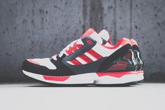 Adidas Zx 8000 (Red/White) #ThatsFILTHY #streetwear #sneakers #sneakerheads #urban #swagger #sneakerlife #fashion #streetfashion #urbanwear #dopeshit #sickkicks #dopekicks #shoes
