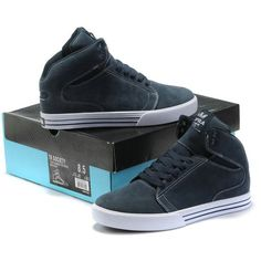 Supra TK Society Mid Mens Shoes In Grey Navy Blue White,Cheap Supra TK... Simple and clean. nice