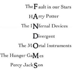 Fandoms // Books