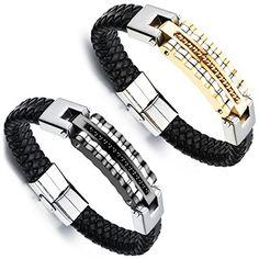 Aroncent 2PCS Herren Damen Armband, Edelstahl Leder Fahrr... https://www.amazon.de/dp/B01HYWUMNG/ref=cm_sw_r_pi_dp_aXfKxbD8KTPEA