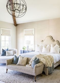 Rustic Farmhouse Bedroom Design Ideas Match – Home Decor Ideas Coastal Master Bedroom, Coastal Bedrooms, Farmhouse Bedroom Decor, Master Bedroom Design, Home Decor Bedroom, Bedroom Furniture, Home Furniture, Bedroom Ideas, Rustic Farmhouse