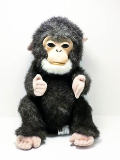 FurReal Friends 9 inch Electronic Plush Monkey By Hasbro #Hasbro