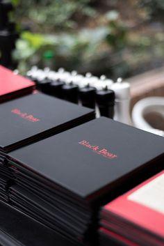 Black Bear Restaurant menu