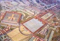 Italy - Roma (Rome) - Republic under Nero - Domus Aurea, or Golden House (Imperial Palace)