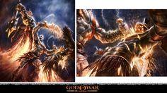 GOW Concept Art