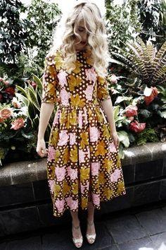 Pretty Autumn Dress
