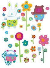 Djeco Cuddly Baby Blankets Wall Stickers