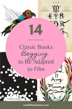"""Have you ever read a book and thought, """"Wow, this would make a great movie too!""""? For some reason or another, none of these classic books actually got a movie, but they should have!"""