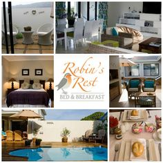 Robins Rest - Bed and Breakfast Address: 331 Main Road, Kwaaiwater, Hermanus Tel: 028 - 312 2257 Email: info@robinsrest.co.za