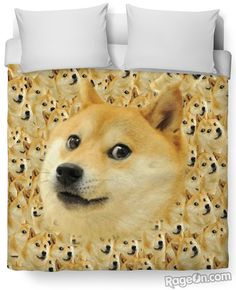 Doge Duvet Cover - RageOn! - The World's Largest All-Over-Print Online Store
