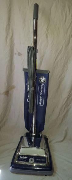 Vintage Eureka Upright Vacuum Cleaner 1458a Dial A Nap
