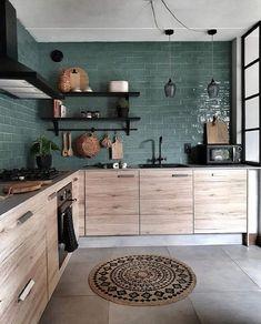 Kitchen Interior, New Kitchen, Kitchen Decor, Kitchen Ideas, Eclectic Kitchen, Kitchen Taps, Kitchen Layout, Kitchen Furniture, Grey Kitchens