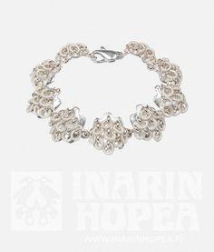 Jääkide rannekoru / Inarin hopea