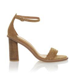 LIZA HEEL SANDAL #stylingmrsoliver.com Suede Sandals, Shoes Sandals, Summer Heels, Ankle Strap, Elegant, Chic, Leather, Style, Fashion
