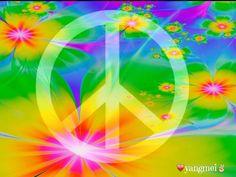 Groovy Peace Sign Art....