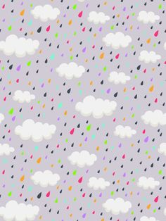 >> Click to Buy << Vinyl Backdrops for Photography Rainbow Waterdrop Dots  White Cloud Newborn Photo Background Backdrops for Photo Studio #Affiliate