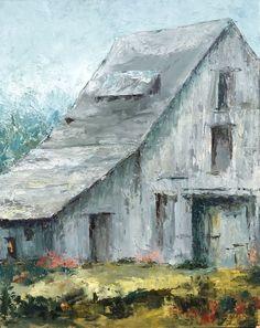 Barn Paintings, Farmhouse Paintings, Landscape Paintings, Barn Pictures, Pictures To Paint, Rustic Artwork, Watercolor Barns, Drawings Pinterest, Lemon Art