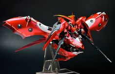 RE/100 Nightingale + Sazabi '朱雀' Custom Build - GBWC Hong Kong 2015 Entry Build