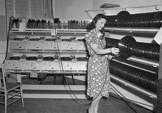 records!  Old school radio DJ'S at work.