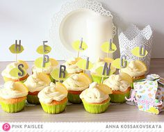 Citrus Bliss to the Table! Cupckes Meet Spring