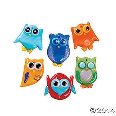 New Fused Glass Ideas | Fused Glass Owl Charms
