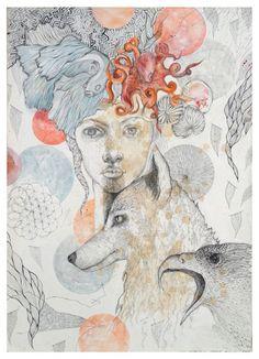 Justyna Stoszek, Girl Best quality fine art print worldwide shipping