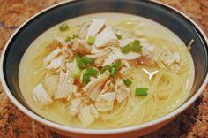 #Low #Fodmap #Chicken #Noodle #Soup