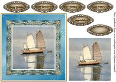 Oriental Sailing Boat on Craftsuprint - Add To Basket!
