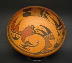 Hopi Bowl, Native American Indian Art
