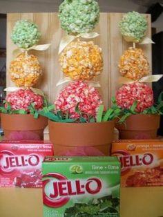 Jello Popcorn Balls in Amazeballs Flavors! Gourmet Popcorn, Popcorn Snacks, Candy Popcorn, Flavored Popcorn, Jello Popcorn Balls Recipe, Halloween Popcorn Balls Recipe, Popcorn Flavours, Popcorn Cake, Marshmallow Popcorn