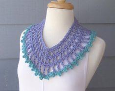 PATTERN S-005 / Crochet Pattern / ELSIE Scarf por BellaMaePatterns