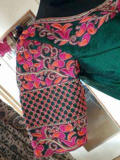 Five Best Saree Blouse Designs – Fashion Asia South Indian Blouse Designs, Sari Blouse Designs, Bridal Blouse Designs, Blouse Patterns, Blouse Styles, Mirror Work Blouse Design, Ethno Style, Blouse Models, Indian Designer Wear