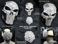 Punisher Mask Last Run por UratzStudios en Etsy