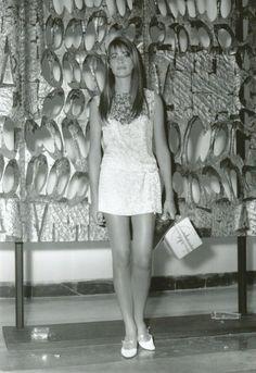 Françoise Hardy au festival de Venise (1966)