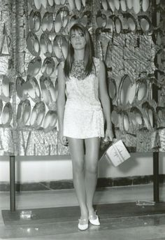 Françoise Hardy at the Venice Film Festival, 1966