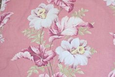 Hey, I found this really awesome Etsy listing at https://www.etsy.com/listing/236471306/vintage-pink-barkcloth-fabric-tropical