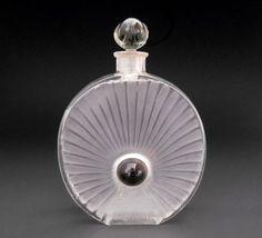 *Rene Lalique Perle Noire Forvil Perfume Bottle 1922