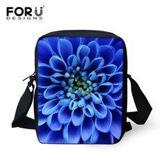 New 2016 Fashion Women Messenger Bags Ladies Flower Rose Print Bags Female Handbags Casual Small Women's Travel Cross Body Bag