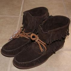 d939057a389 Men s Ankle High Dark Brown Genuine Suede Leather Moccasin - 495x495 - jpeg Leather  Moccasins