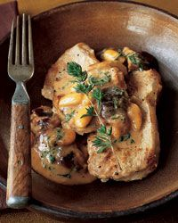 Veal Medallions with Fig and Almond Cream Sauce, link: http://www.foodandwine.com/recipes/veal-medallions-with-fig-and-almond-cream-sauce