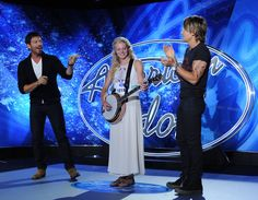 American Idol fans are getting a taste of genuine bluegrass this season as Ellen Peterson from Branson, Missouri competes with her banjo.
