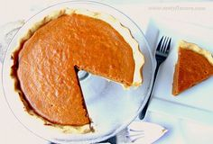 Eggless pumpkin pie! great for people with an egg allergy