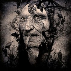 ' The Gray Man Portrait ' by Seth Siro Anton