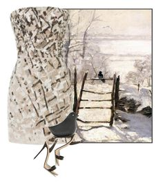"""Bird on a Fence"" by amy-jean ❤ liked on Polyvore featuring J. Mendel, Giuseppe Zanotti and Circus by Sam Edelman"